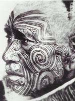 Татуировка лица