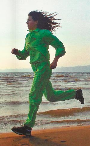 бег женщины фото