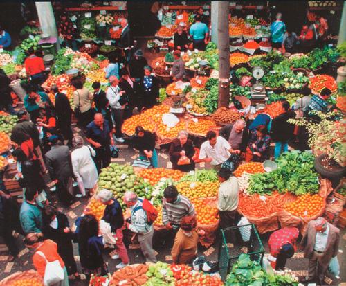 Рынок под открытым небом