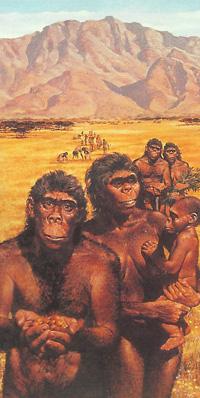 Неандертальцы картина