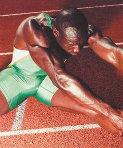 спортсмен разминается фото