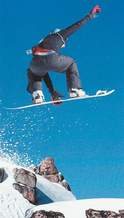 Сноубордист фото