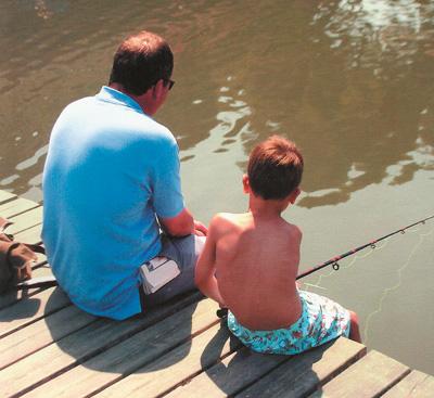 отец и сын фото