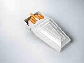 сигареты в виде гроба